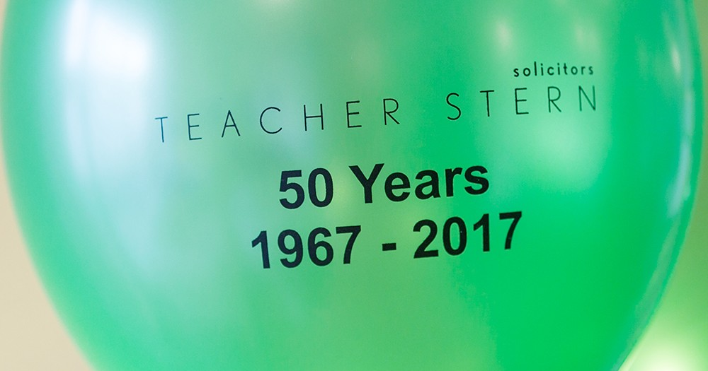 Teacher Stern 50th Anniversary