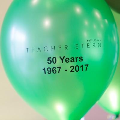 Teacher Stern 50th Anniversary