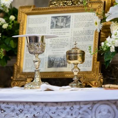 Eugenie, Arietta & Isabella First Communion